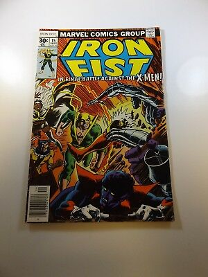 Iron Fist #15 VG+ condition Free shipping on orders over $100.00!