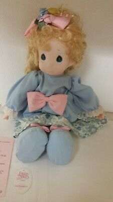 """Precious Moments Limited Edition Collector's Doll. """"maddy"""""""
