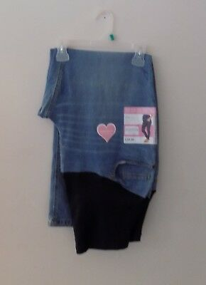 NWT Great Expectations Maternity Jeans Denim Women's Size XL (16-18)
