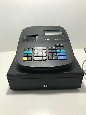 Royal 120dx Electronic Cash Register Used Good Condition