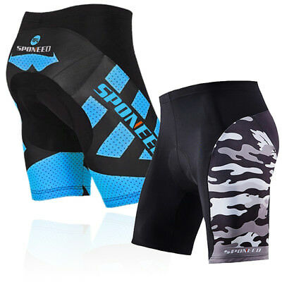 Team Bicycle Shorts Men Quality Biking Biker Short Pants Gel Padded Cycle Tights