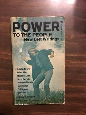 1970 POWER to the PEOPLE CLEAVER Allen Lynd Horowitz Rubinstein Naison Oglesby +