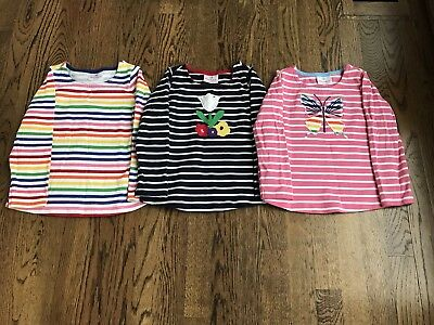 Hanna Andersson Girls Shirt (set of 3, size 100)