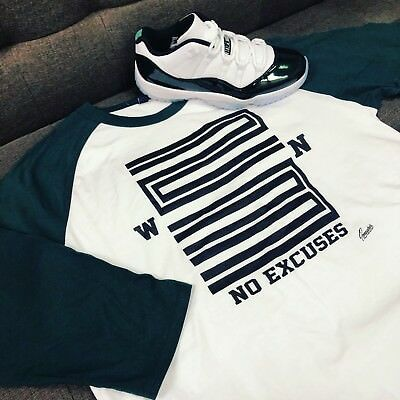 """/""""The 23/"""" T-shirt to Match Retro Low /""""Easter Emerald/"""" 11/'s"""