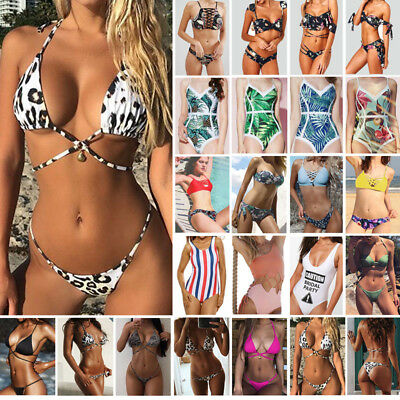 Women Sexy Bikini Set Push-Up Padded Swimwear Swimsuit Bathing Beachwear New