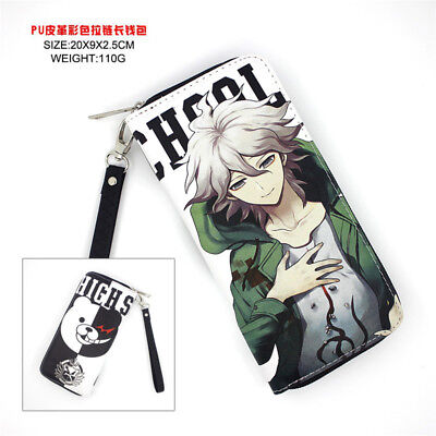 Anime Game DANGANRONPA Polyurethan Geldbörse brieftasche PU Purse Wallet