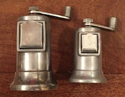 Perfex  Salt And Pepper Mill Set Made In France