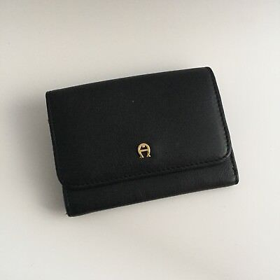 Etienne Aigner coin/cardholder wallet with keychain