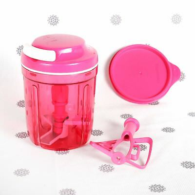 NEW Tupperware Smooth Chopper Limited Edition Pink Chops Blends
