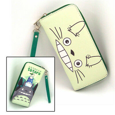 Anime My Neighbor Totoro Polyurethan Geldbörse brieftasche PU Purse Wallet B