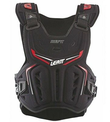 NEW LEATT Adult Body Armour Chest Protector 3DF AIRFIT Black Red MX SX Motocross