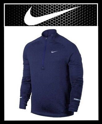 c6c73bfa Nike Sphere Element Men's Half-Zip Long Sleeve Running Top Size S - L Msrp