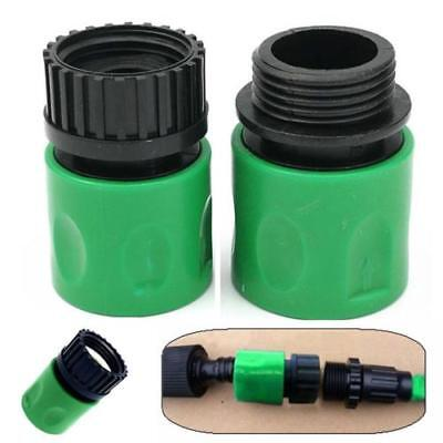 1Set 3/4''''Garden Hose Adapter Thread Connector Plastic Quick Connect Tap