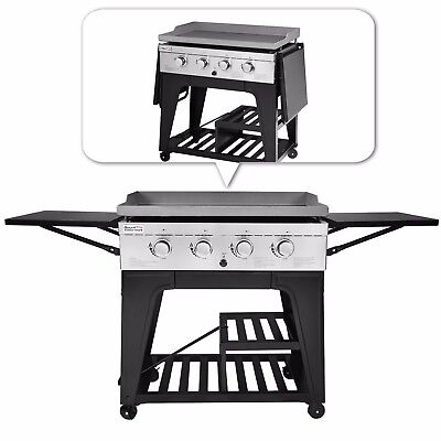 d4ace072db4 ROYAL GOURMET BBQ Gas Propane Grill 4 Burner Griddle -  314.99 ...