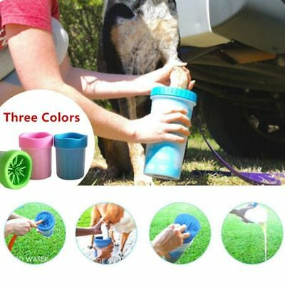 Portable Pet Paw Plunger Mud Cleaner Washer Mudbuster Dog Cat Cleaner Washing