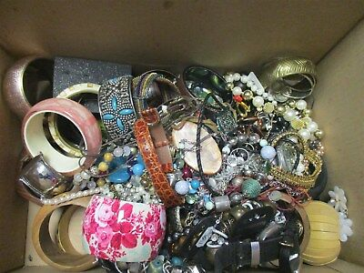 3.5kg Job Lot Of Assorted Costume Jewellery