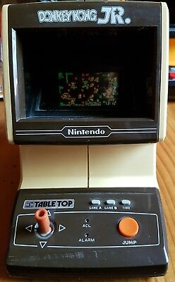 game and watch tabletop donkey kong jnr