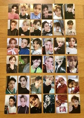 NCT 2018 EMPATHY Official Photocard Dream Ver  Reality Ver  Select Member