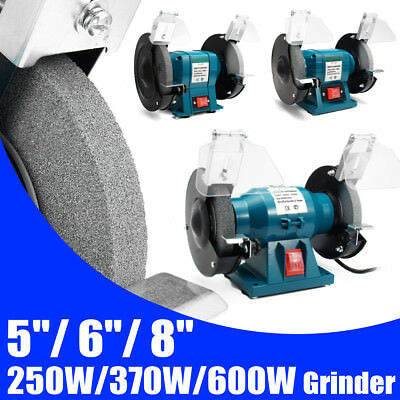 "5""/ 6""/ 8"" Mini Bench Grinder & Polisher 0-10000rpm 250W/370W/600W 220-240V 50Hz"