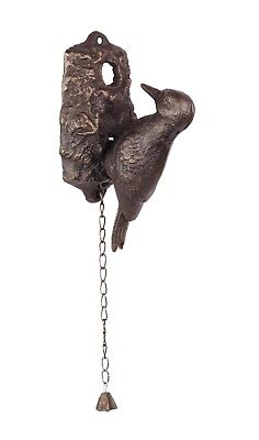 Door - Cast Iron Woodpecker Door Knocker Bronze Colour # 7Jp84