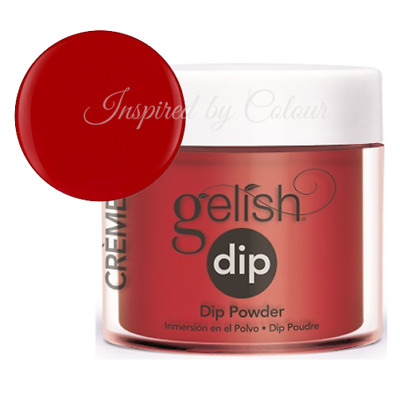 Harmony Gelish Dip System SNS Dipping Powder - HOT ROD RED 23g