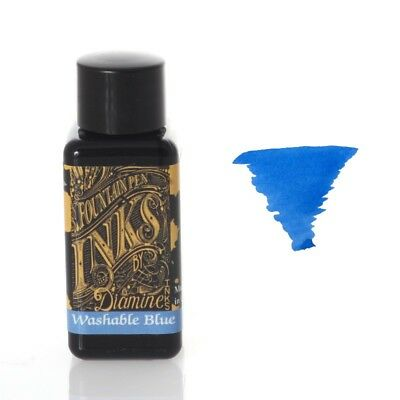 Diamine - Fountain Pen Ink, Washable Blue 30ml