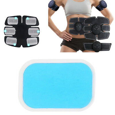 EMS ABS Hip Trainer Replacement Pads Gel for Electrical Buttock Muscle MachineEP