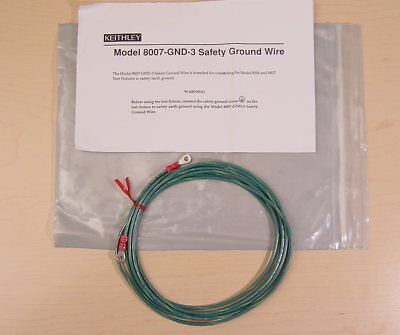 Keithley 8007-GND-3 Safety Ground Wire