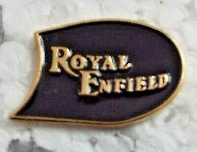 Royal Enfield motorcycle enamel pin badge British classic Bullet