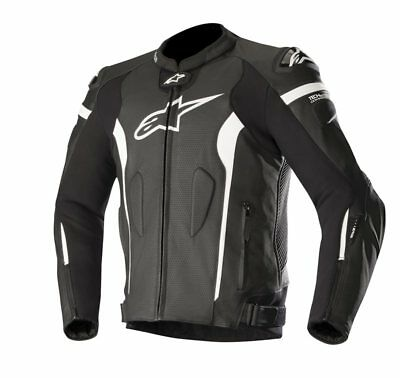 Alpinestars Missile Leather Motorcycle/Motorbike Sports Jacket - Tech air comp.