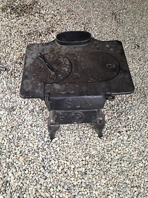 sun 2.88 cook oven wood burning stove
