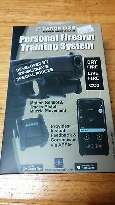 TARGETIZE Personal Firearm TRAINING SYSTEM Live/Dry Fire CO2 *FAST SHIP*!!