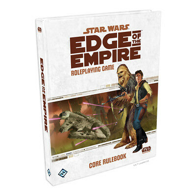 Star Wars Edge of the Empire Roleplaying Game Core Rulebook NEW