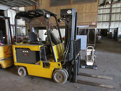 Daewoo Electric Forklift 6,000 Lbs. Model Bc30S 36 Volt
