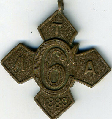 Army Temperance Association India Six Month Medal ATAI.1 Large 30 mm Version