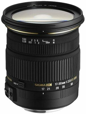 SIGMA 17-50mm F2.8 EX DC OS HSM LENS FOR CANON  UK STOCK