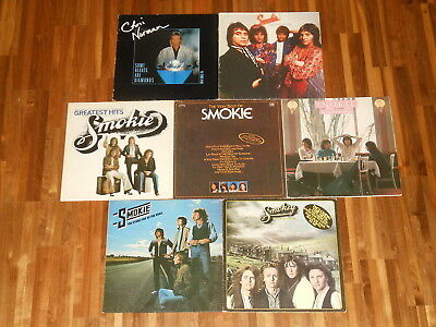 Smokie - Chris Norman - SAMMLUNG - 7 LPs - Changing All The Time - Some Hearts