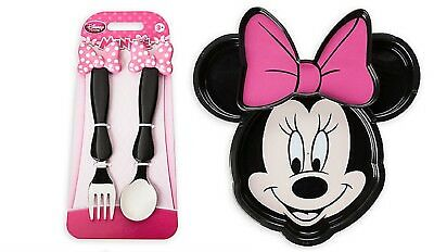 Disney Minnie Mouse Bow Flatware and Plate set  sc 1 st  PicClick & MINNIE MOUSE BOW Flatware Set NEW - $12.99   PicClick