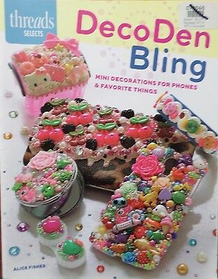 DECODEN BLING - Crafting/Hobby Softcover Book from Thread Selects - NEW