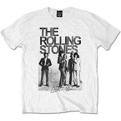 The Rolling Stones 1962 Band Mick Jagger Rock Official Tee T-Shirt Mens