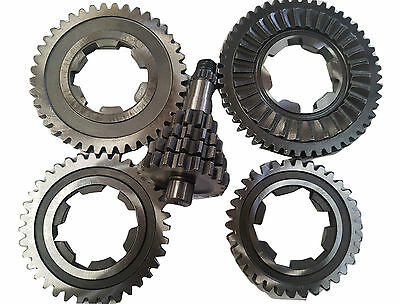 ukscooters LAMBRETTA TV175 SX200 JET200 COMPLETE GEARBOX 4 GEARS CLUSTER NEW .