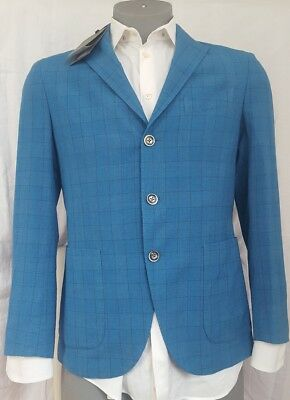 Boglioli Blazer Milano Spring Collection New With Tags $1,565 38US/48 italy