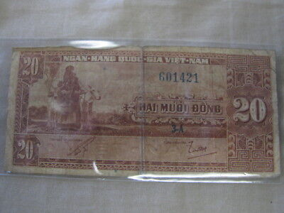 VIET-NAM 20 MUOI DONG - Circulated