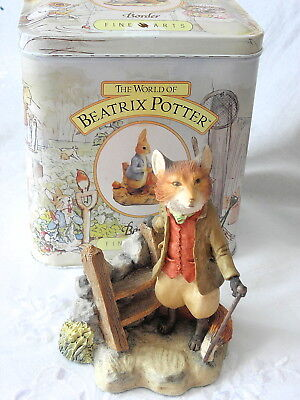 Border Fine Arts ~ Beatrix Potter ~ Foxy Whiskered Gentleman ~ Bp19 ~ Style One