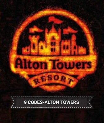 *2X Alton Towers Tickets* Pick Your Own Date!