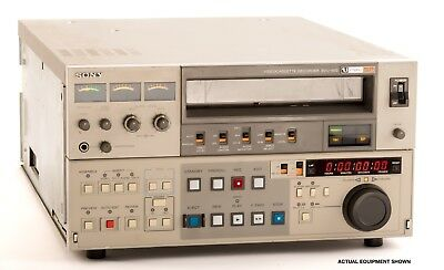 """Sony BVU-950 3/4"""" U-Matic VTR Editor with Time Base Corrector GREAT CONDITION!!"""
