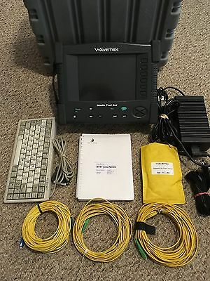 Acterna JDSU MTS-5100e Media Test Set MTS 5100e w/ VFL & PM