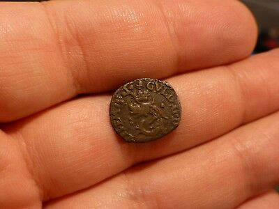 Italy Or France ?? Unknown Coin With Dolfin 1583