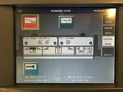 Wavetek Acterna MTS-5100 Media Test Set MTS 5100 w/ VFL & PM