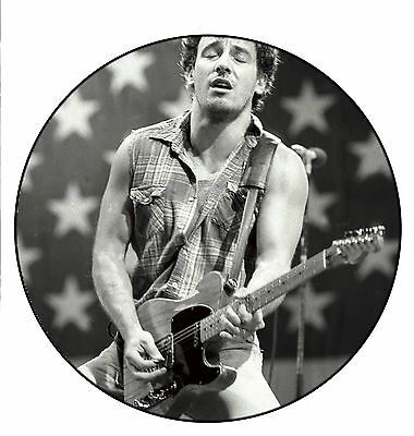 patch printed /Iron on patch,Back patch, Trellis Bruce Springsteen, To